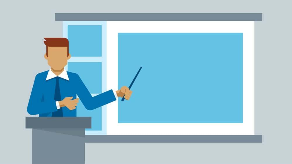 آموزش نکته اصلی 6: ارائه سخنرانی ها
