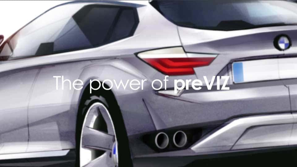 آموزش قدرت PreViz در BMW Group Designworks USA