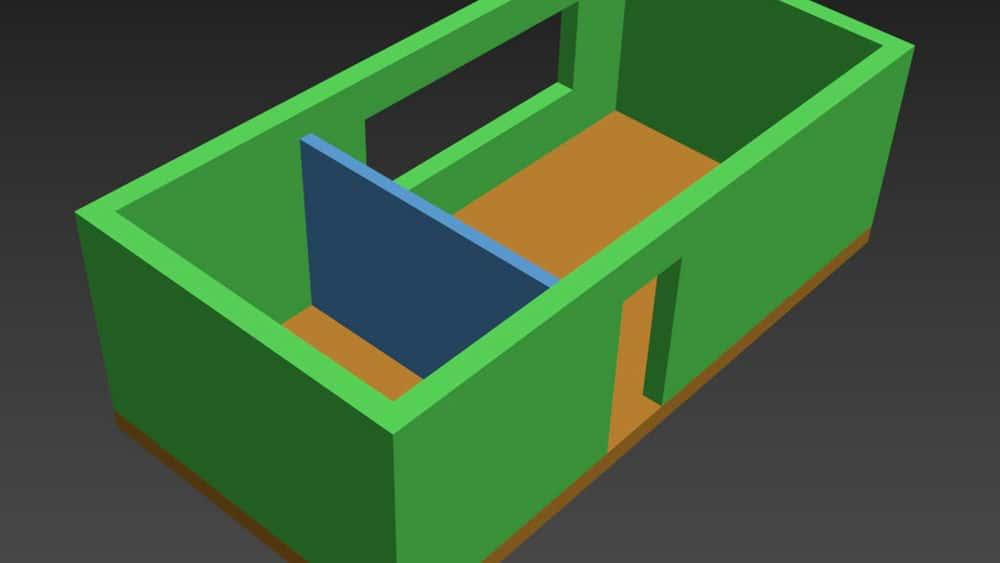 آموزش اتوکد: وارد کردن یک پروژه 2 بعدی به 3ds Max