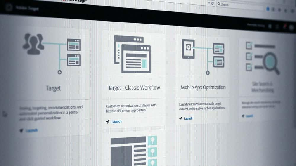 آموزش شخصی سازی خودکار Adobe Target