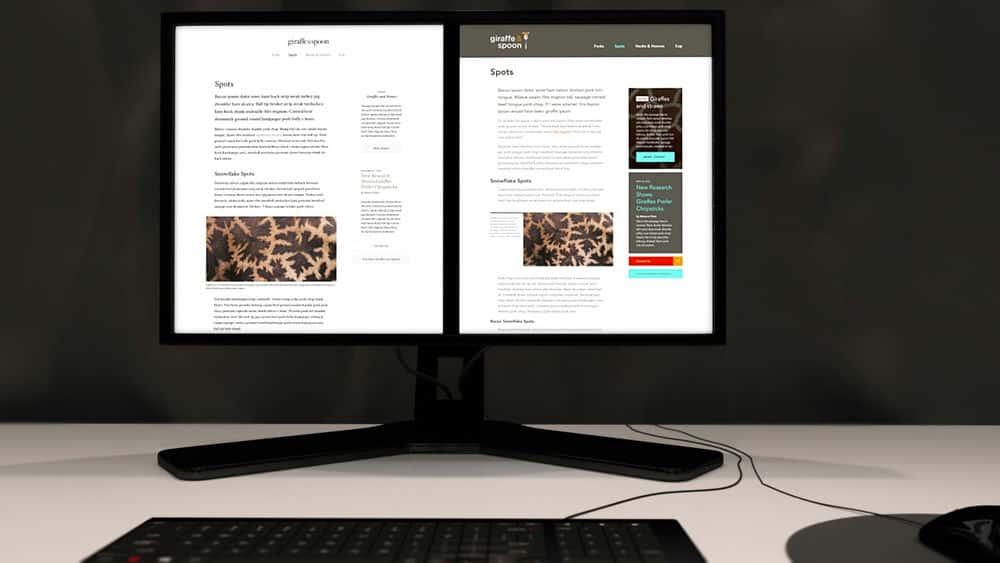 آموزش طراحی بصری برای وب