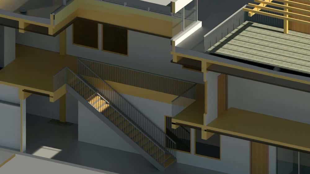 آموزش CAD و BIM: گردش کار برای اتاق ها در مدیریت امکانات