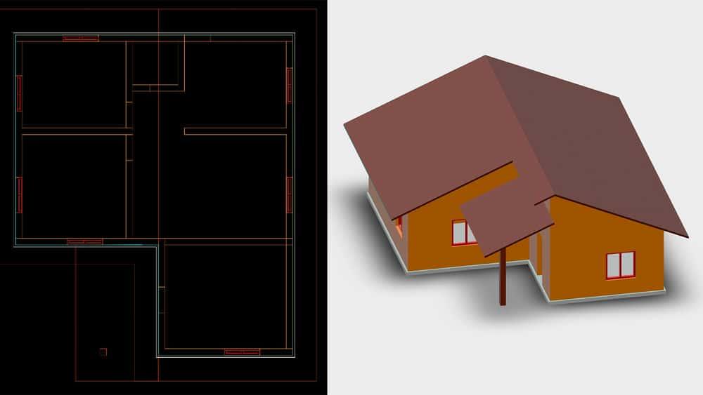 آموزش اتوکد: 2D و 3D Elevations