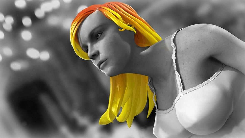 آموزش شبیه سازی مو با استفاده از nCloth در مایا