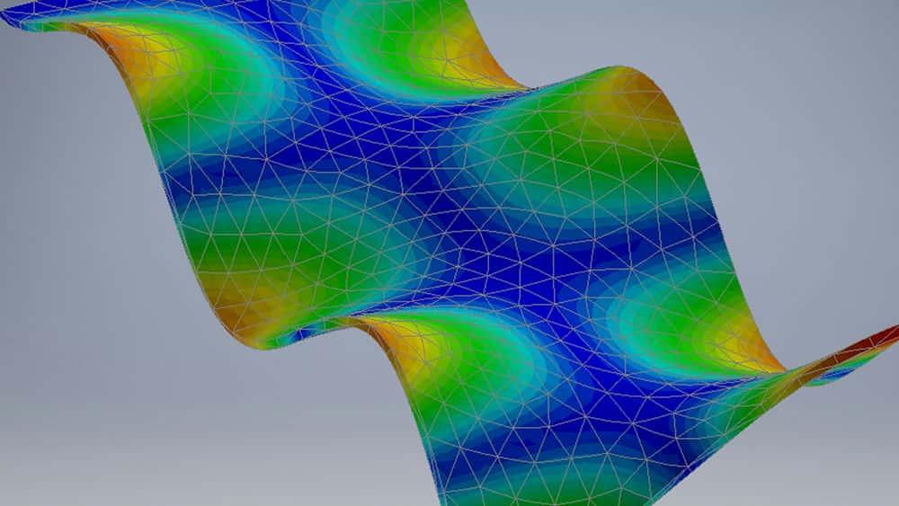 آموزش Autodesk Nastran In-CAD: تجزیه و تحلیل پویا