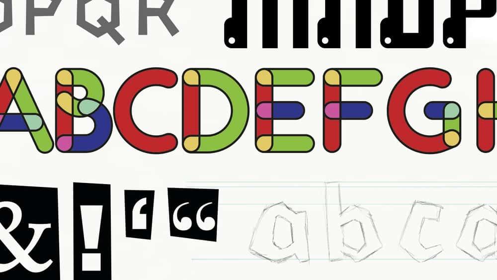 آموزش ایجاد قلم با Fontself ، Illustrator و Photoshop
