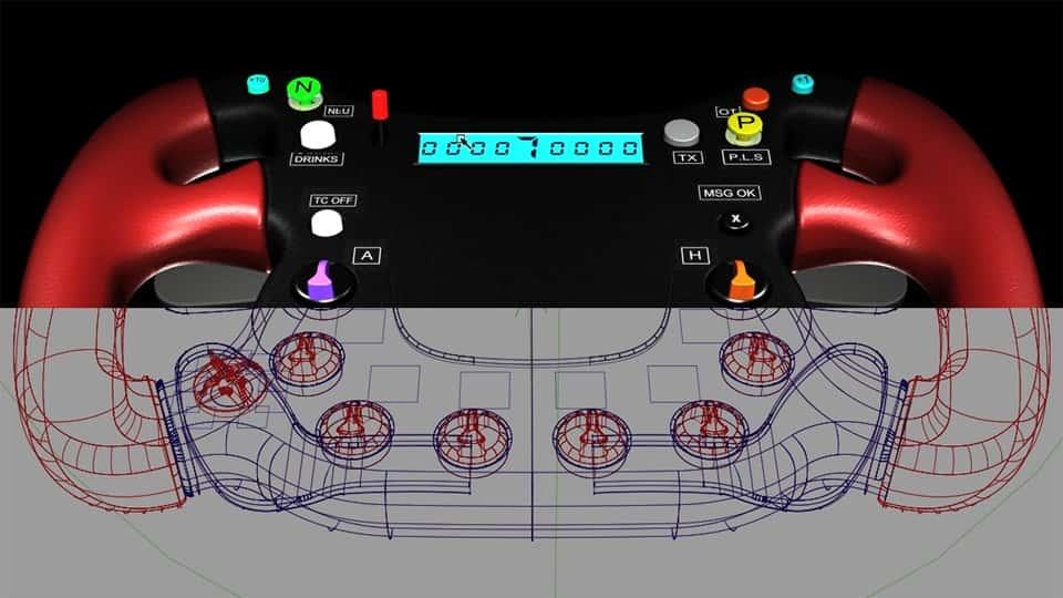 آموزش ظاهر شدن یک چرخ F1 در Alias