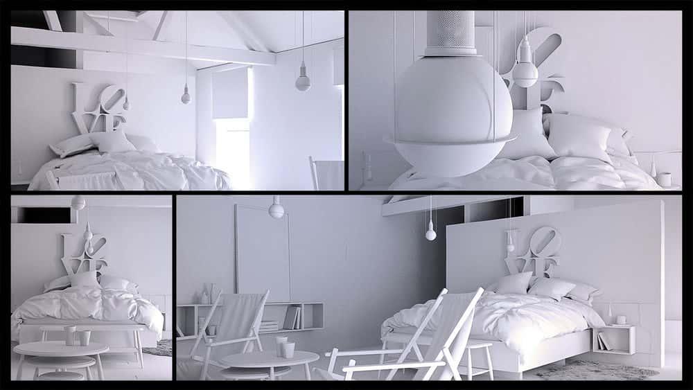 آموزش مدلسازی فضای داخلی واقعی در 3ds Max و Marvelous Designer