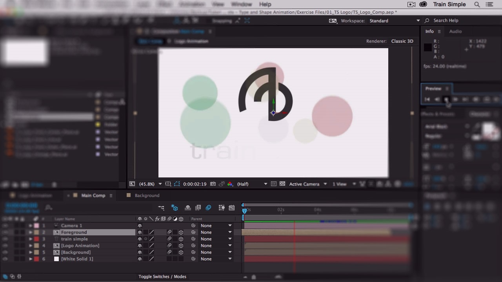 آموزش انیمیشن After Effects CC Shape و Type