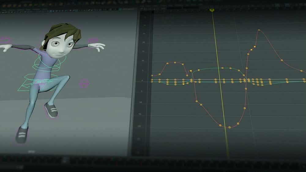 آموزش 12 اصل انیمیشن در مایا