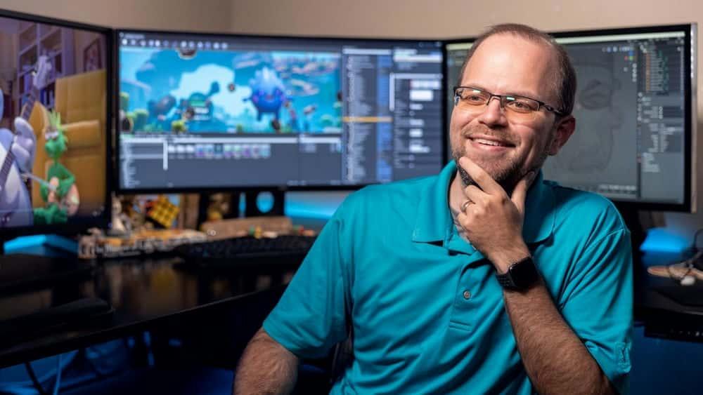 آموزش اصول و مشاغل انیمیشن