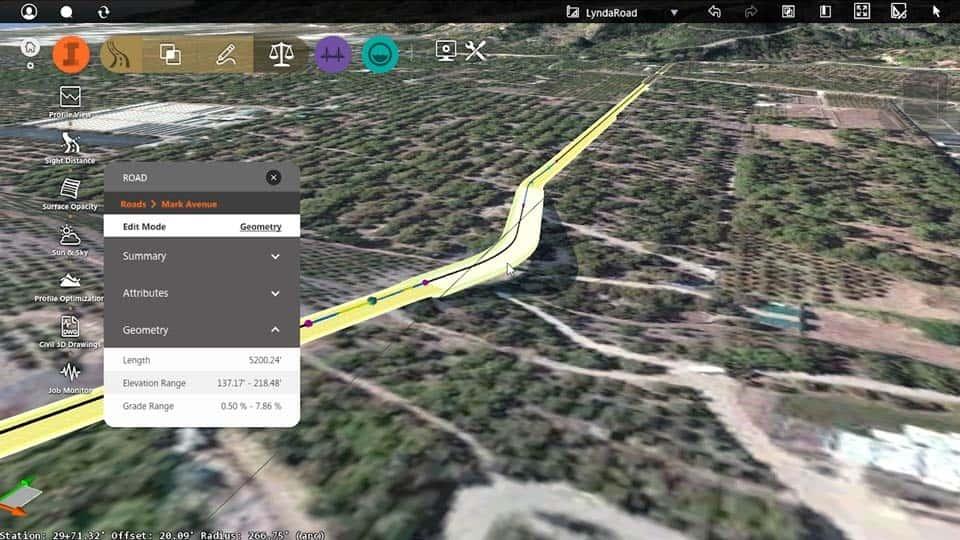 آموزش طراحی جاده: InfraWorks 360