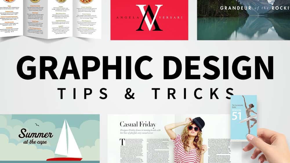 آموزش نکات و نکات طراحی گرافیکی هفتگی