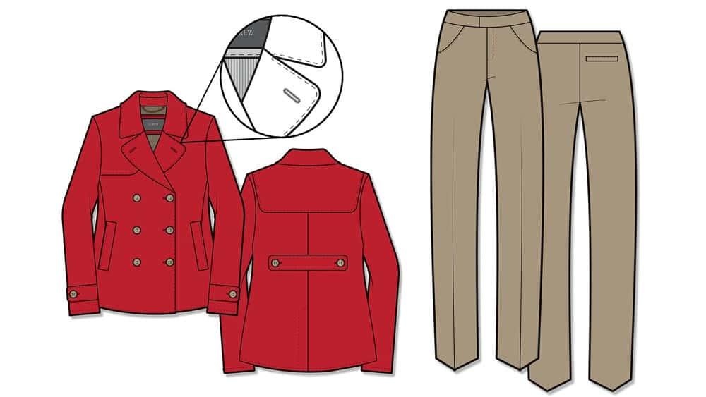 آموزش Illustrator for Fashion Design: Drawing Flats in CS6 (2013)