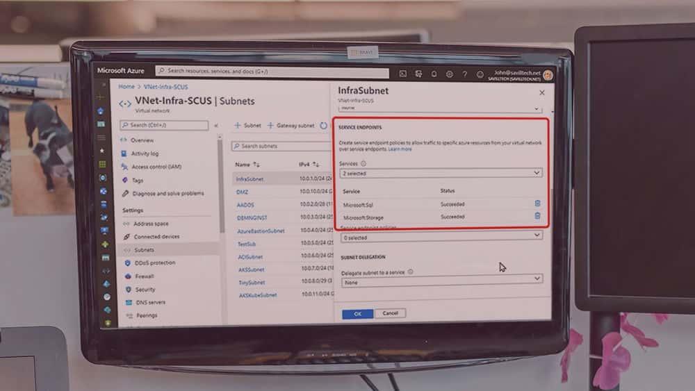 آموزش Microsoft Azure Solutions Architect: یک راه حل شبکه طراحی کنید