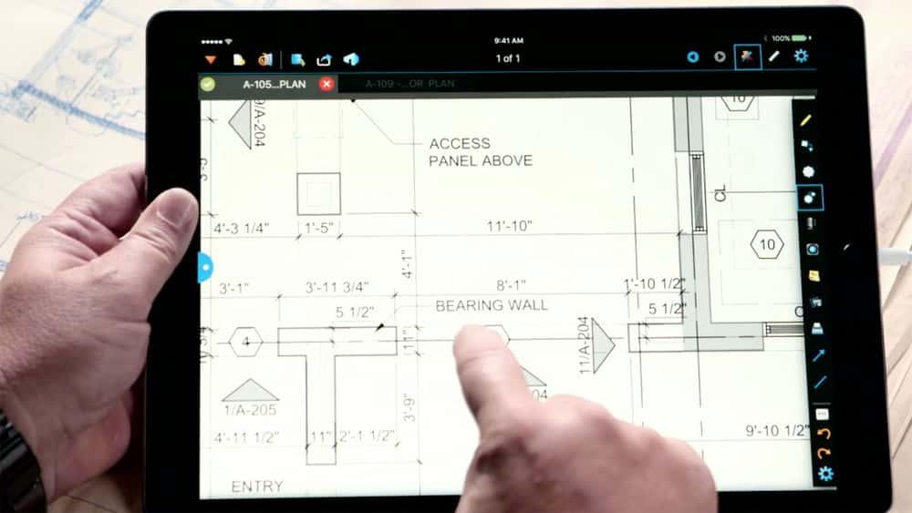 آموزش نقشه های ساخت و ساز: BlueBeam برای iPad