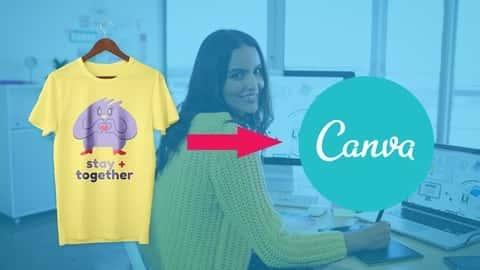 آموزش طراحی تی شرت Canva - گرافیک خیره کننده Canva را ایجاد کنید