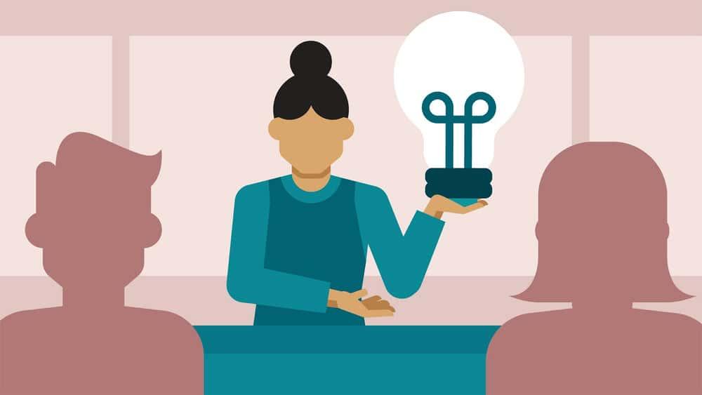 آموزش اجرای یک کسب و کار طراحی: مهارت های ارائه