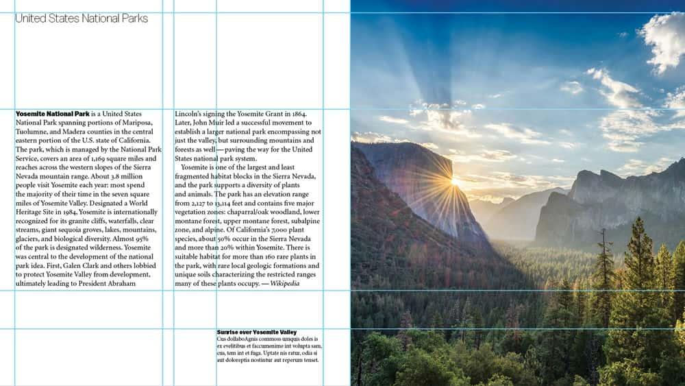آموزش یادگیری طراحی گرافیک: چیدمان ها
