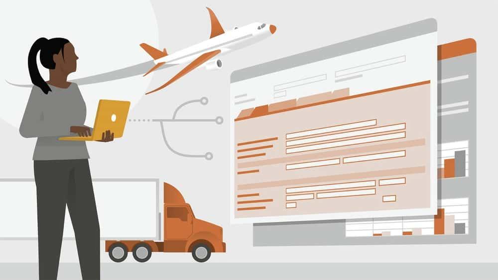آموزش بررسی اجمالی مدیریت حمل و نقل SAP
