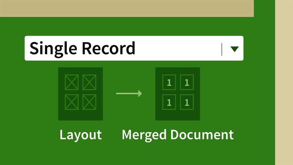 آموزش InDesign: ادغام داده ها و انتشار پایگاه داده