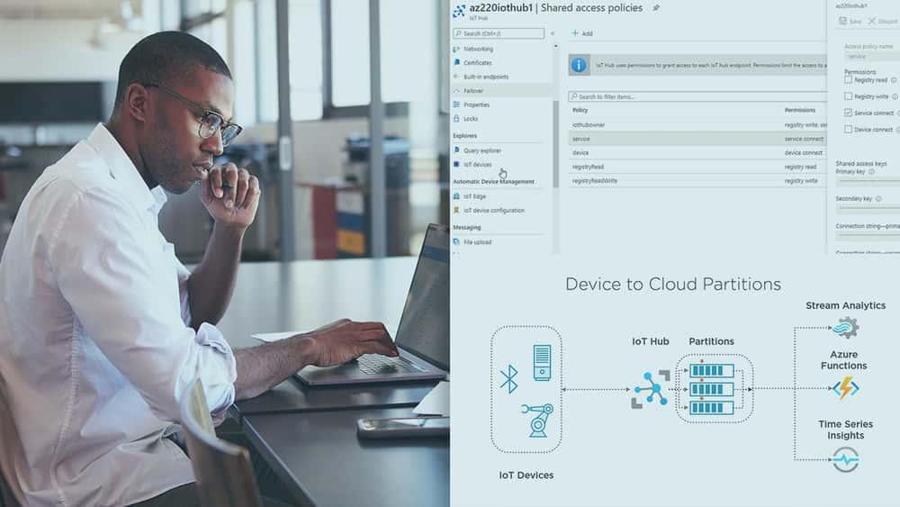 آموزش Microsoft Azure IoT Developer: یک IoT Hub ایجاد و پیکربندی کنید
