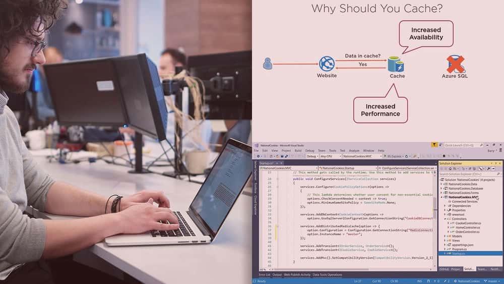 آموزش Microsoft Azure Developer: پیاده سازی Azure Cache