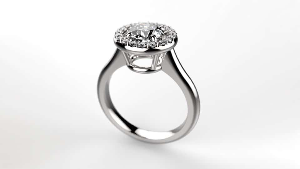آموزش کرگدن: مدل سازی جواهرات