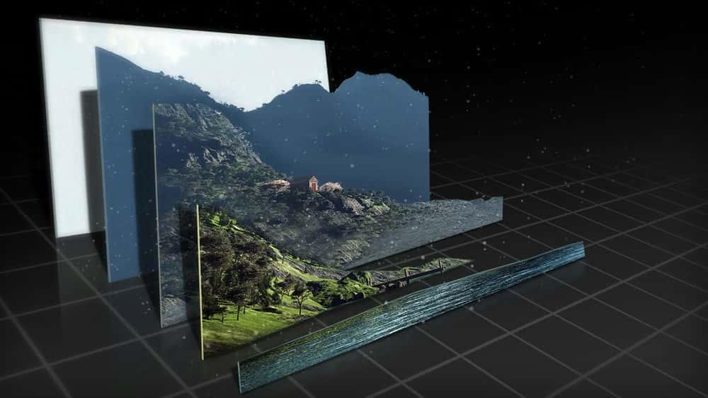 آموزش ایجاد یک صحنه سه بعدی با یک تصویر 2D در NUKEX