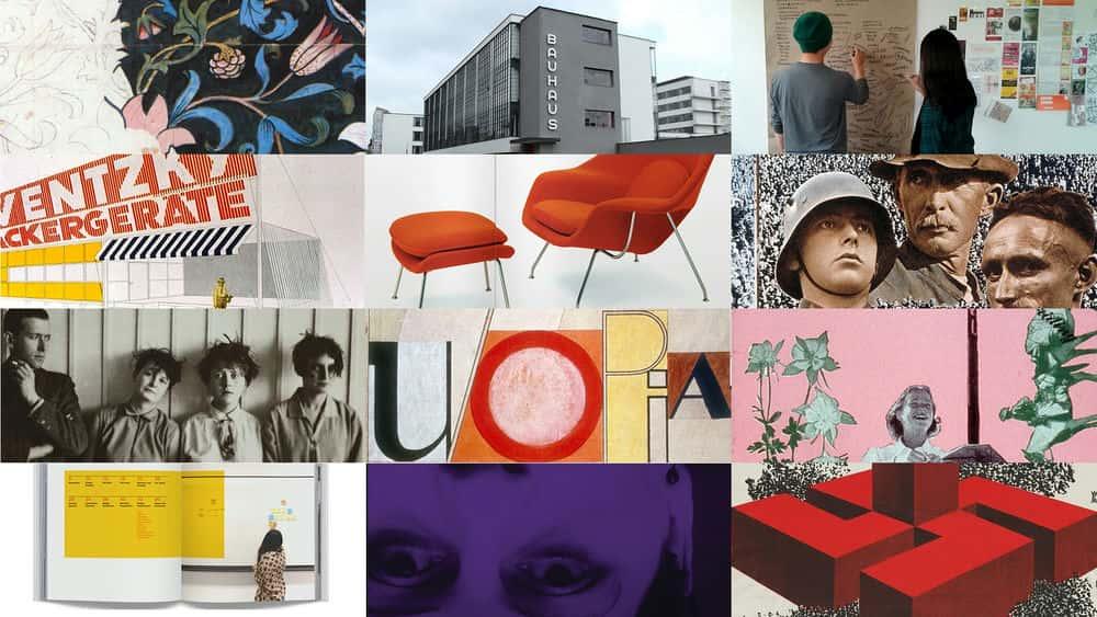 آموزش تاریخچه طراحی گرافیک: جنبش باهاوس