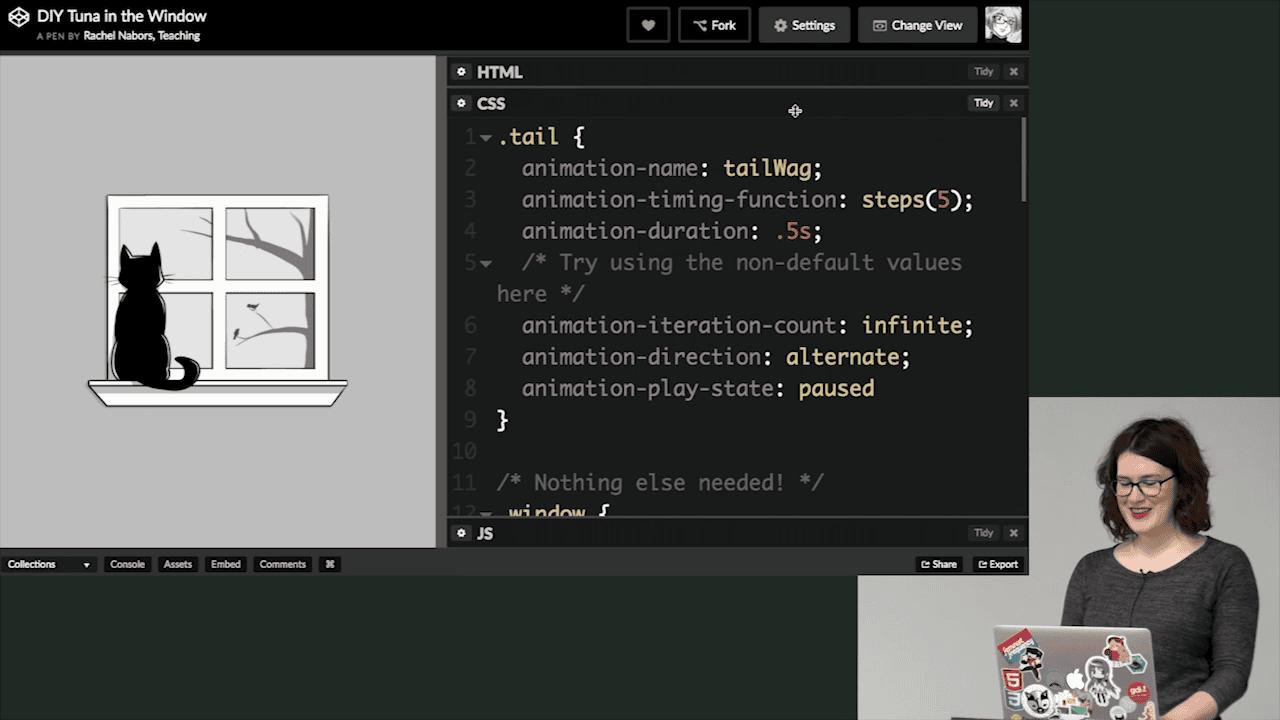 آموزش طراحی حرکت با CSS