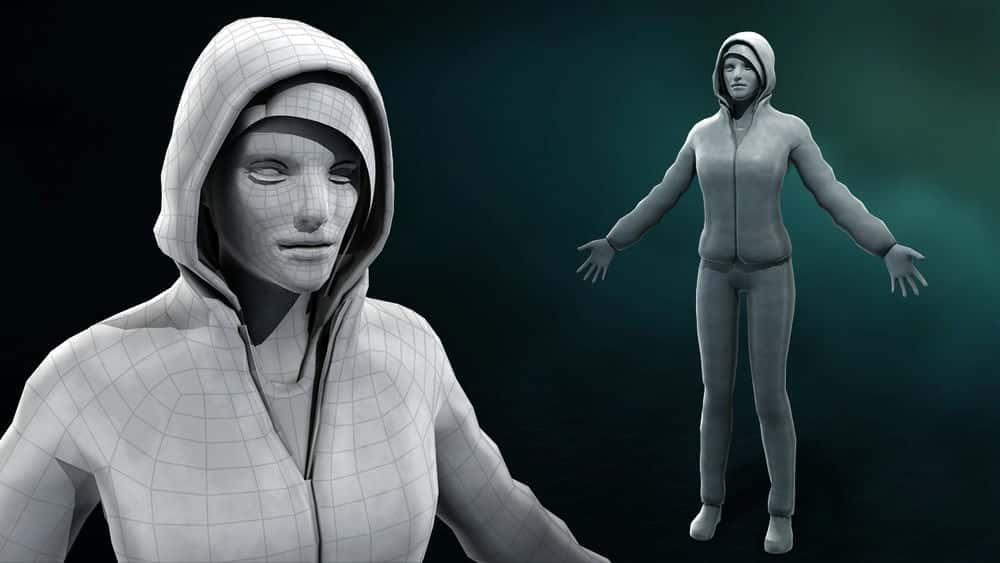 آموزش واقعی سازی شخصیت شخصیت بازی در 3ds Max