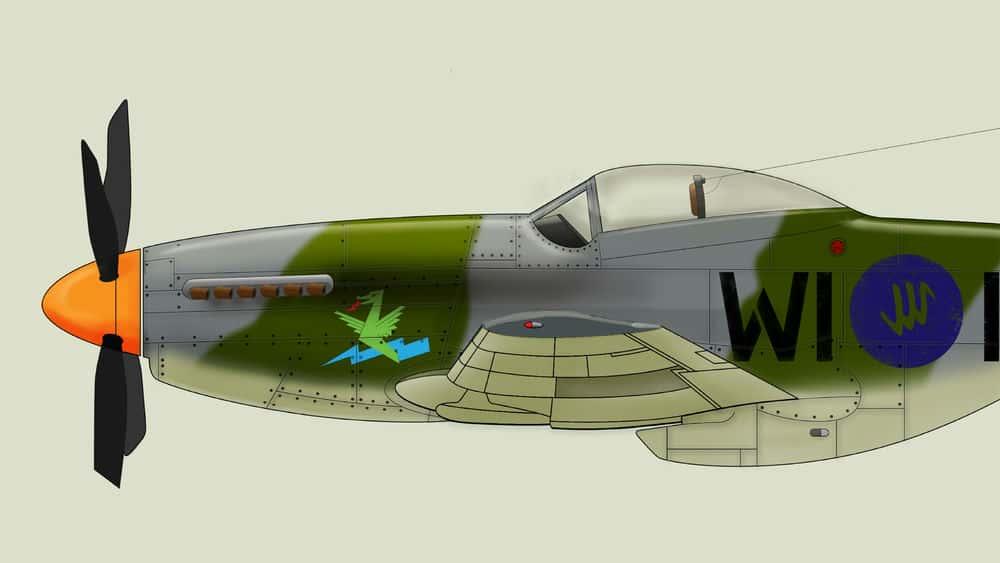 آموزش ایجاد پروفایل هواپیما با Adobe Illustrator و Photoshop