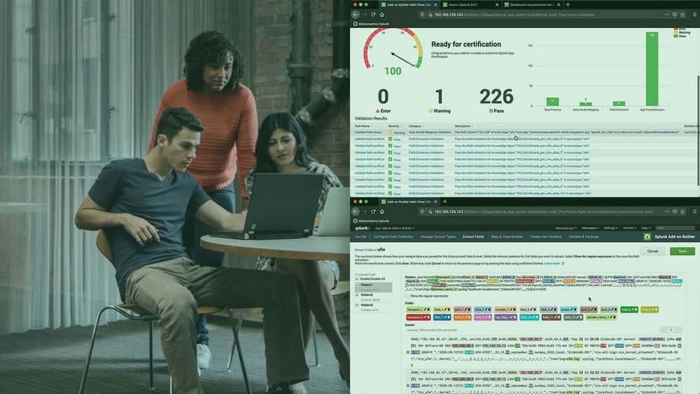 آموزش طراحی و ایجاد افزونه هایی برای Splunk Enterprise Security