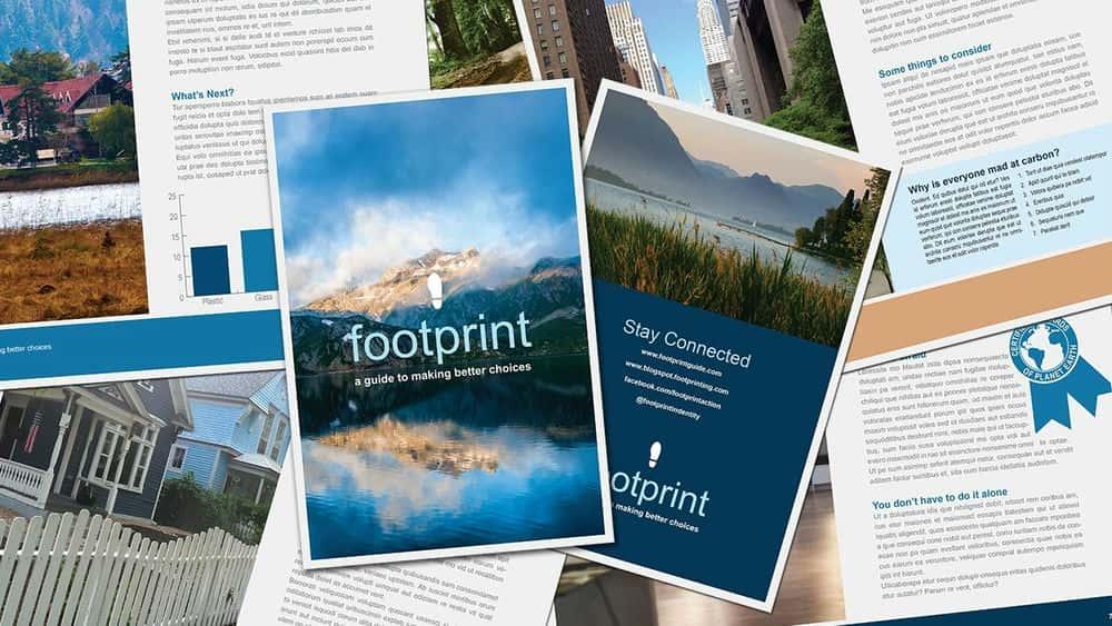 آموزش ایجاد طرح بروشور چند صفحه ای در InDesign