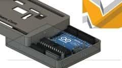 آموزش محفظه چاپی سه بعدی برای تخته های Arduino Fusion 360 طراحی کنید