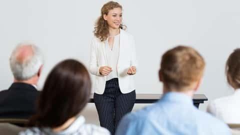 آموزش مهارت های ارائه: بیمه سخنرانی بعدی شما خوب خواهد بود