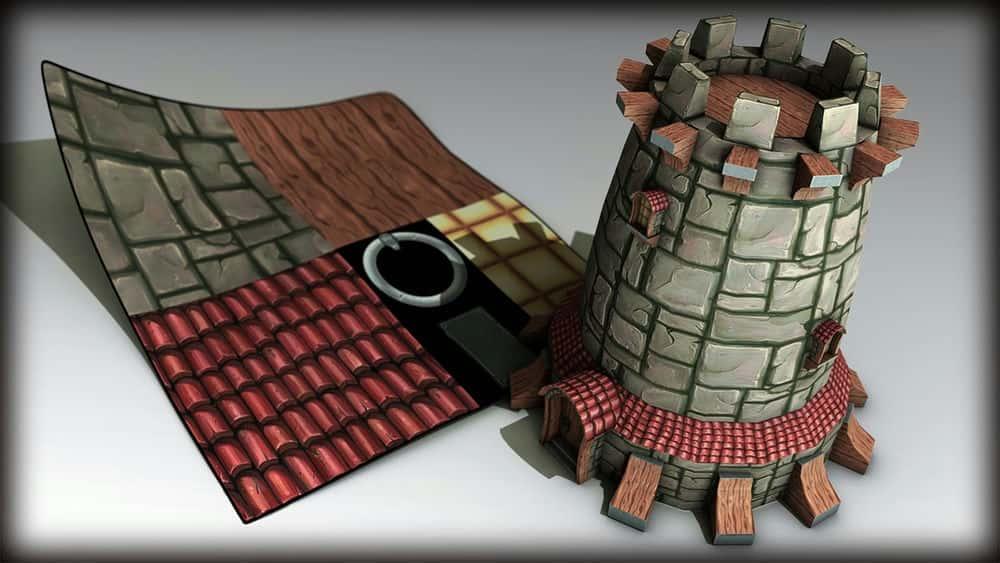 آموزش تکنیک های نقشه برداری UV برای بازی ها در 3ds Max