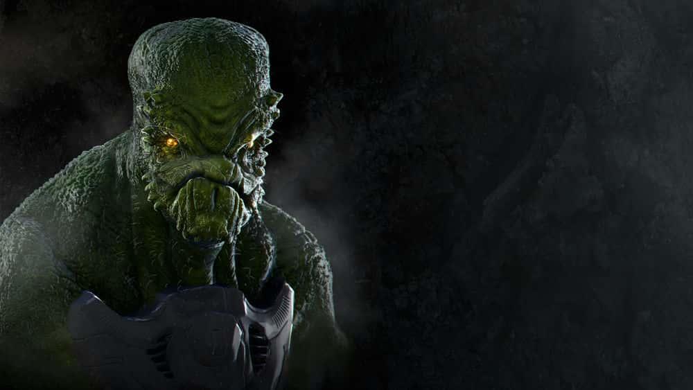 آموزش Alien Concept Design در ZBrush