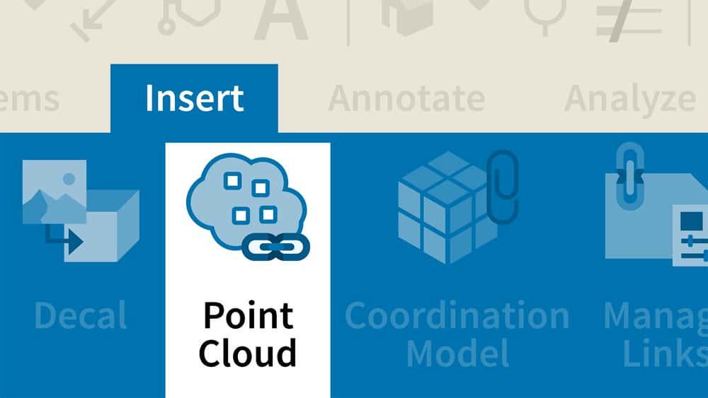آموزش Revit: با استفاده از داده ابر ابر