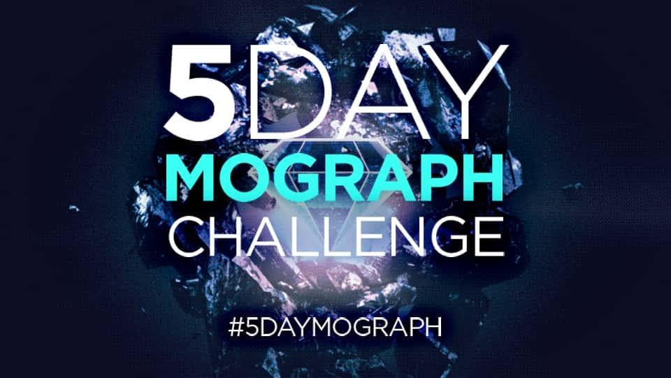 آموزش چالش 5 روزه Mograph: متحرک کردن عناصر