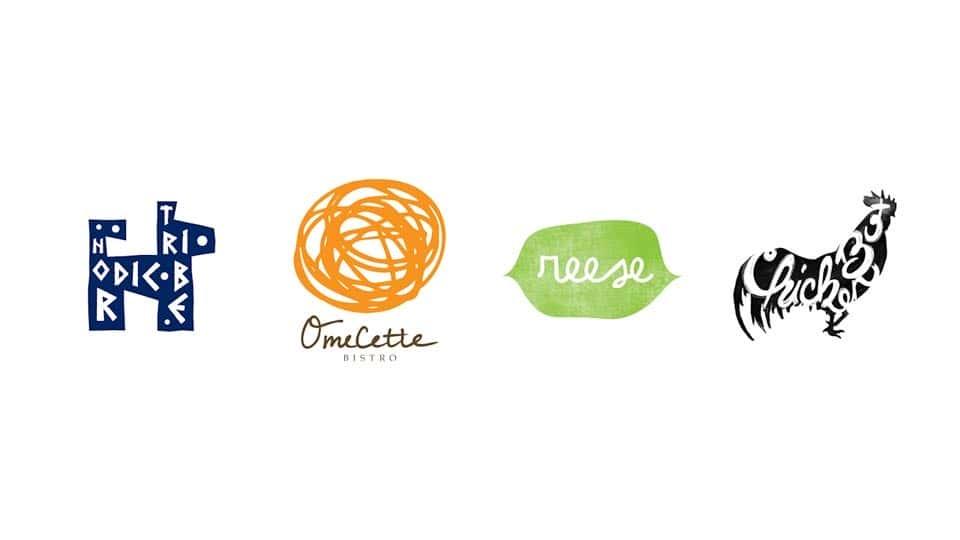 آموزش طراحی لوگو: زیبایی شناسی دست ساز