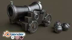 آموزش راهنمای کامل مبتدیان Blender 2.8 Stylized 3D Game Model