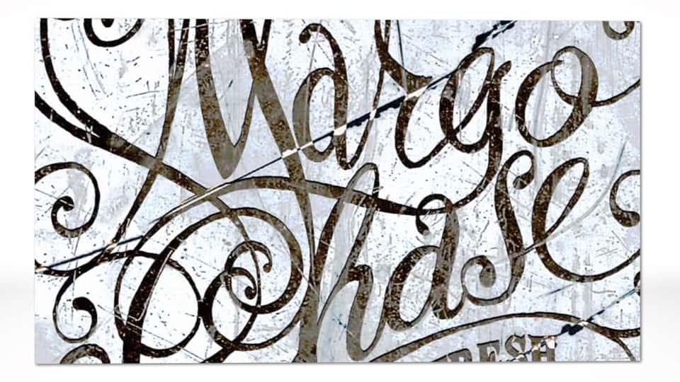 آموزش پوستر دست نویس Margo Chase: شروع برای پایان دادن