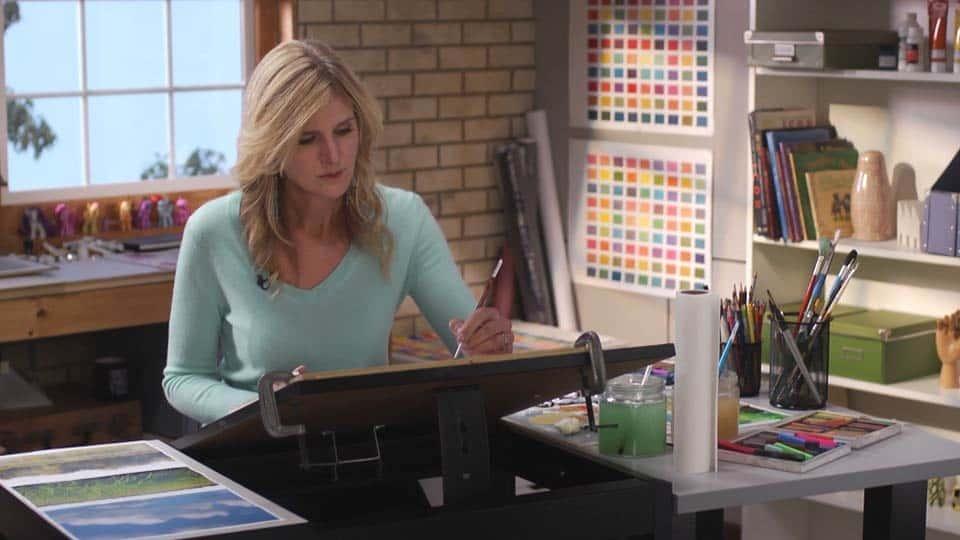 آموزش هنرمند در محل کار: بافت
