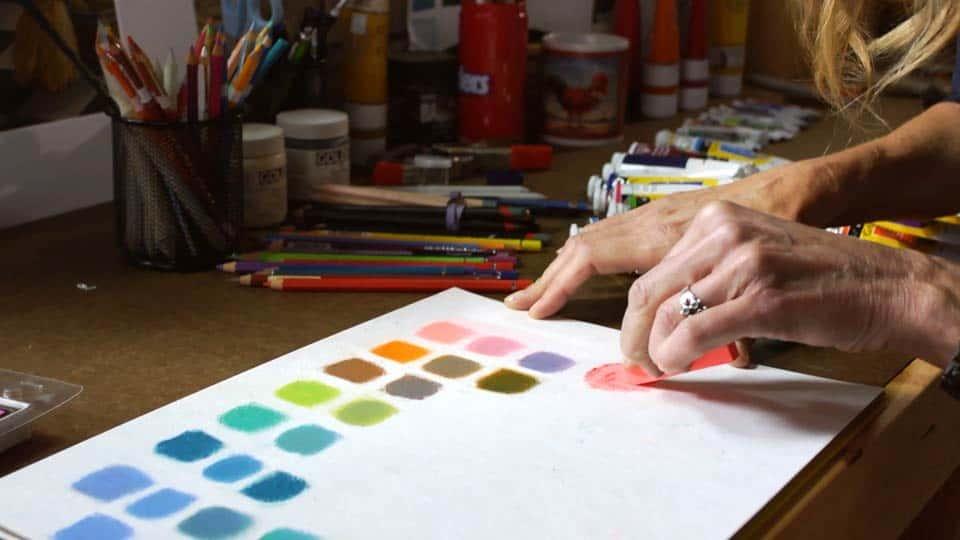 آموزش مبانی طراحی گرافیکی: رنگی