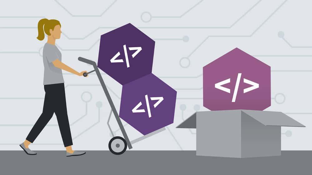 آموزش یادگیری npm مدیر بسته Node