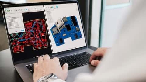 آموزش طراحی مدار Fusion 360 و ساخت PCB