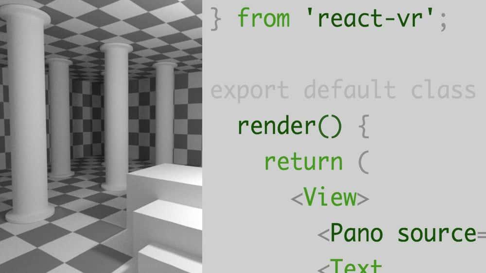 آموزش یادگیری React VR