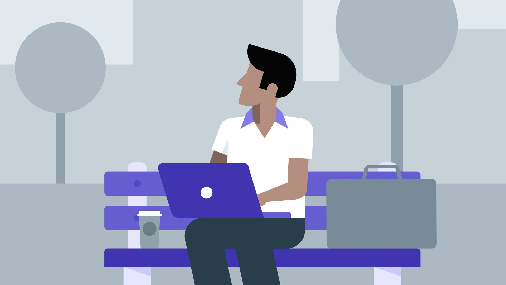 آموزش دفتر تلفن همراه خود را تنظیم کنید تا از هرجای دیگر کار کند